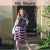 Thumbnail image for Back to School: First Day of 4th Grade