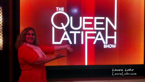 Thumbnail image for Hanging Out with The Queen at The Queen Latifah Show