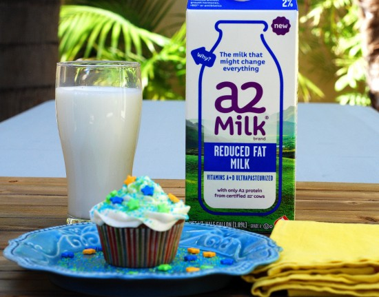 Cupcakes and a2 Milk®
